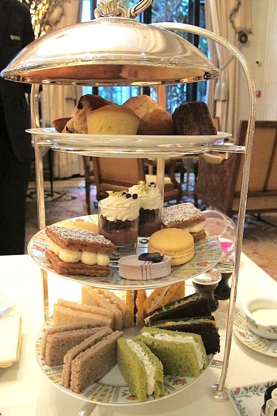 High Tea at Four Seasons Paris