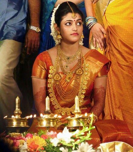 Kerala Bride Simple Hairstyle: Kerala Wedding Style