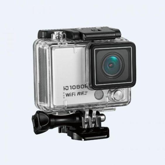 AT300 WIFI Versione 1080P Full HD Action Camera Impermeabile 50M Sport Camera Telecomando Supporto Auto DVRs