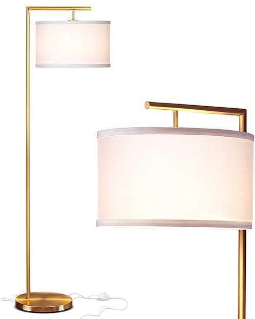 The Best Floor Lamps On Amazon Stylish Under 200 Gold Floor