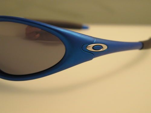 oakley minute blue sunglasses  find best value and selection for your oakley minute 2 gen electric blue black iridium lens rare item from 1998 search on ebay. world's leading marketplace.