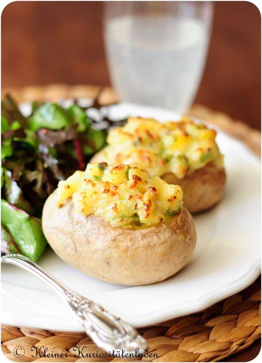 Gefüllte Backofenkartoffeln   Kleiner Kuriositätenladen
