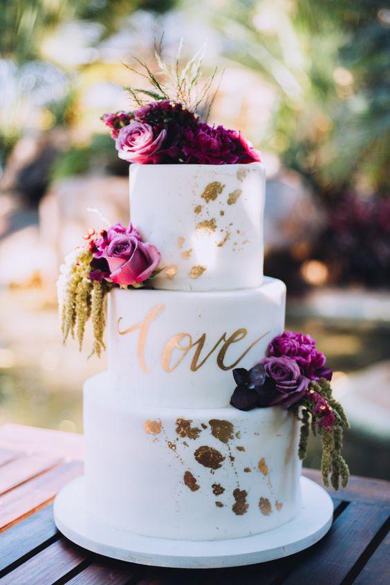 45 pasteles de boda elegantes y románticos, ¿cuál elegirán? #cake #weddingcake #pastelesdeboda #sweet #wedding #tortasdeboda #pastel #delicious #wedding #bodascommx #mexico2019
