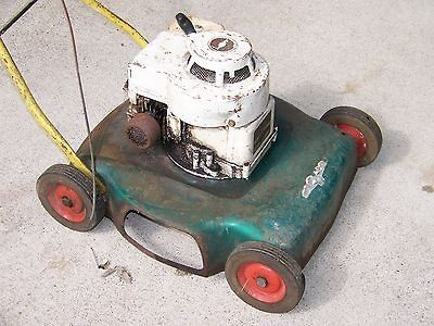 how to make a winch out of a lawn mower