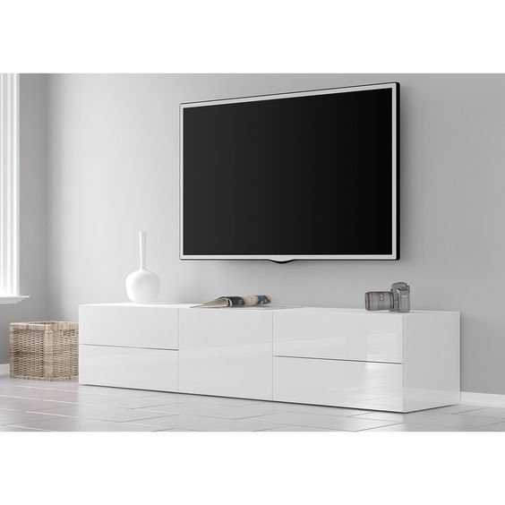 Tv Lowboard Penola Ii Lowboard Heimkino Modernes Wohnen