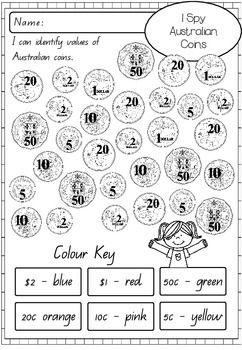australian money activity worksheets worksheets. Black Bedroom Furniture Sets. Home Design Ideas