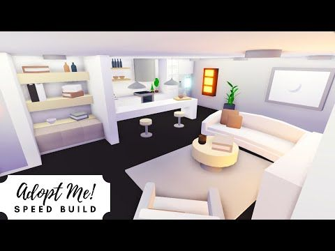 Shop House Part 2 Neutral Modern Home Speed Build Roblox Adopt Me Youtube Home Roblox House Home