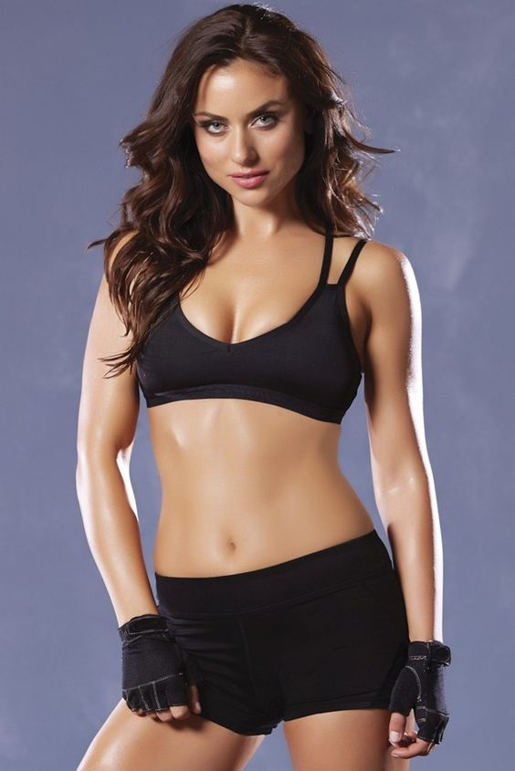 Microfiber Sports Bra with Removable Padding in L