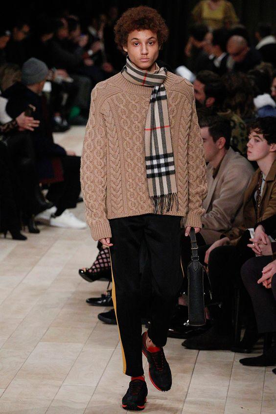 Burberry  Fall Winter 2016 Otoño Invierno #Menswear #Trendes #Tendencias #Moda Hombre - F.Y!