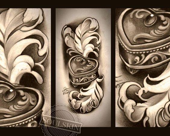 ******HUOM***** Perjantaina klo 14 vapautui aika jolloin saisi tämän tatuoinnin! #jewelrybox #jewel #jewelry #diamond #bling #girly #girlstuff #feather #tattoo #tattoodesign #tattooidea #drawing #art #pencilwork #pencil #turku #turkutattoo #soulskintattoo