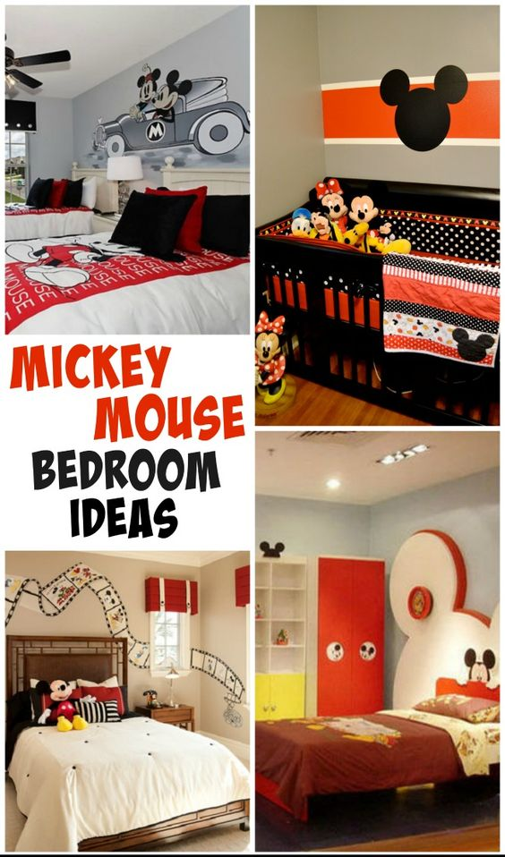 Playful Mickey Mouse room ideas for those Disney lovers!