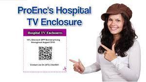 hospital anti ligature tv cabinets