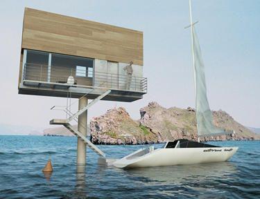 Apartamento en el mar