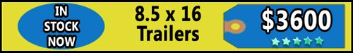 Trailers for Sale in VT - 8.5 X 16 Enclosed Trailers  - http://www.trailersnow.net/trailers-for-sale-in-vt-85-x-16-enclosed-trailers.html