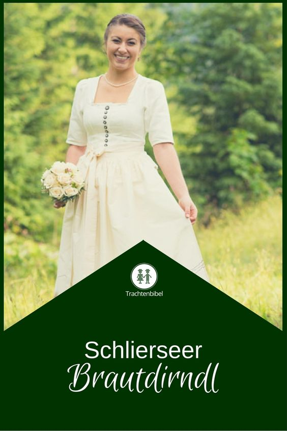 Schlierseer Brautdirndl - ein Unikat zur #Hochzeit in Tracht