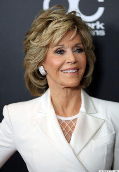 Jane Fonda 2018 Hair Eyes Feet Older Women Hairstyles Medium Hair Styles Jane Fonda Hairstyles