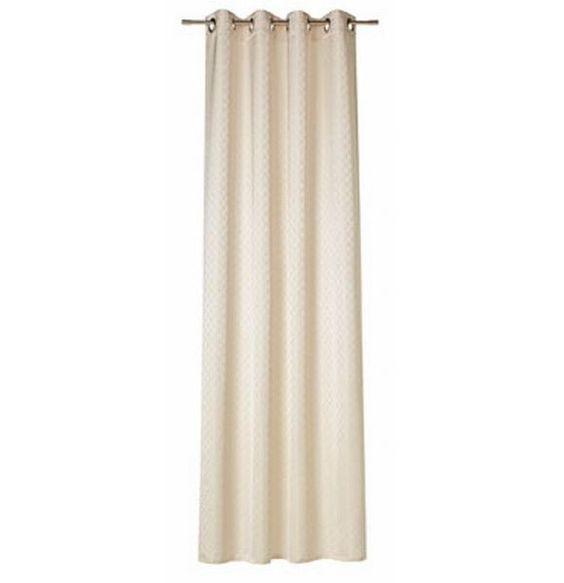 """Die Gardine """"Allovers"""" von JOOP! bildet einen geschmackvollen Rahmen für Ihre Fenster. Das hochwertige Wohnaccessoire ist aus Synthetikfaser gefertigt und lässt sich durch die integrierten Ösen spielend leicht aufhängen. Auf einer Breite von ca. 140 cm kommt das berühmte Lilienmotiv besonders zur Geltung. Zeigen Sie Geschmack mit der eleganten Gardine """"Allovers"""" von JOOP!"""