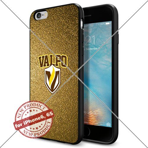 WADE CASE Valparaiso Crusaders Logo NCAA Cool Apple iPhone6 6S Case #1667 Black Smartphone Case Cover Collector TPU Rubber [Gold] WADE CASE http://www.amazon.com/dp/B017J7G5AA/ref=cm_sw_r_pi_dp_uuIqwb11ZSZ5G