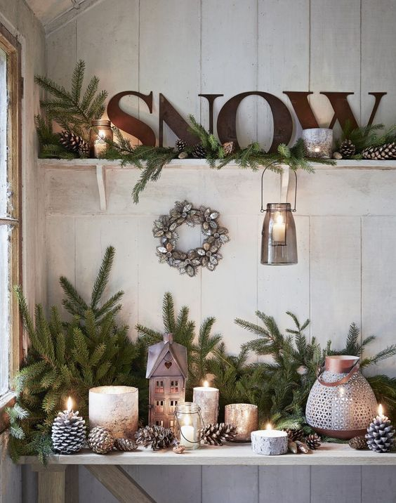 Country Style Christmas Decorations: