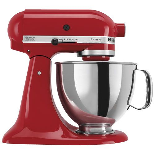 A guide to using the KitchenAid Mixer. It explains what speeds to use, and the cool things that the attachments can do. Handy!