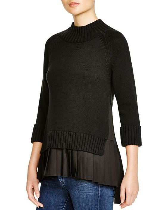 Timo Weiland Three Quarter Sleeve Top