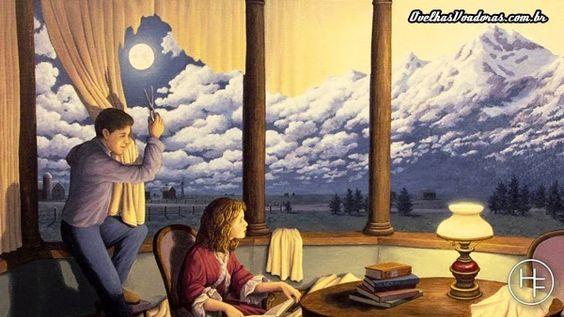 46 pinturas com o incrível surrealismo de Rob Gonsalves ~ Ovelhas Voadoras