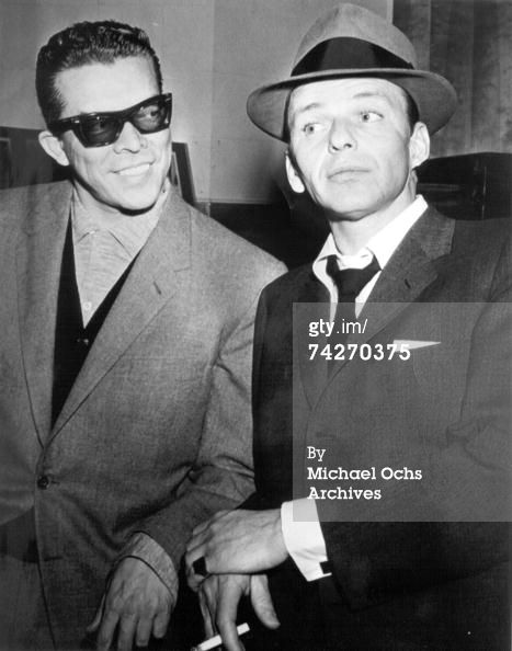 Esquivel and Frank Sinatra http://www.eyeglassboy.com/Buddy-Holly_Roy_Orbeson_Esquivel.html