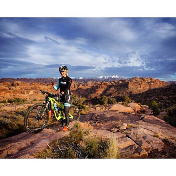 I'm in the mountain bike paradise of the world. #Moab #ILOVEBIKES