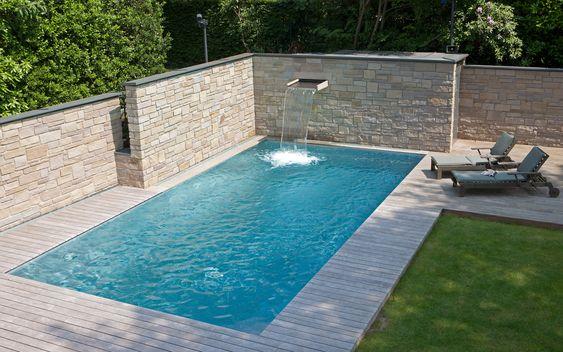 pool selber bauen kosten beispiel Hausideen Pinterest - kosten pool im garten