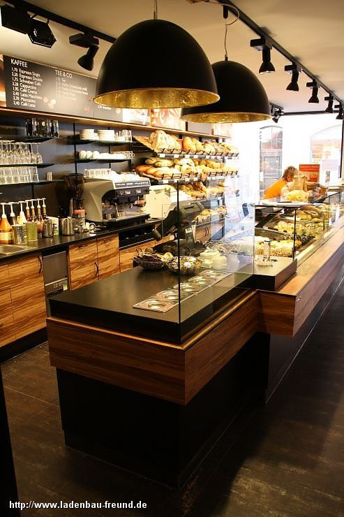 B ckerei gulde rottenburg theke freund ladenbau for Raumgestaltung cafe
