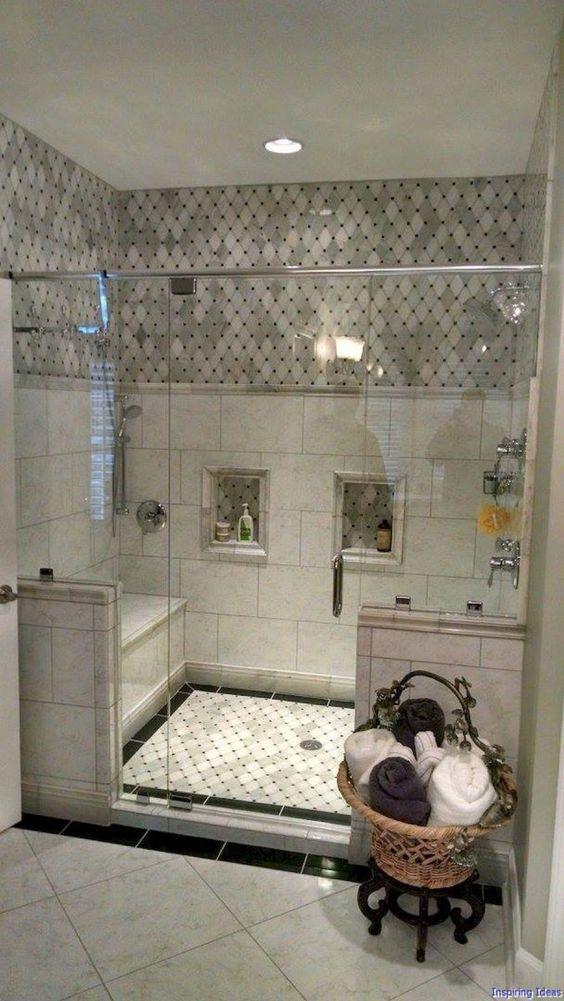 Best 50 Small Bathroom For Small Space Designs Colors And Tile Ideas 20 Plitka Dlya Vannoj Krasivye Vannye Komnaty Nebolshie Vannye Komnaty