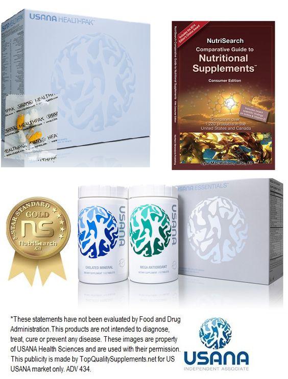 USANA Health Award - 5 stars Nutrisearch Award
