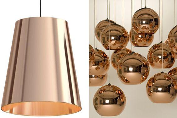 #pendant #copper #bright