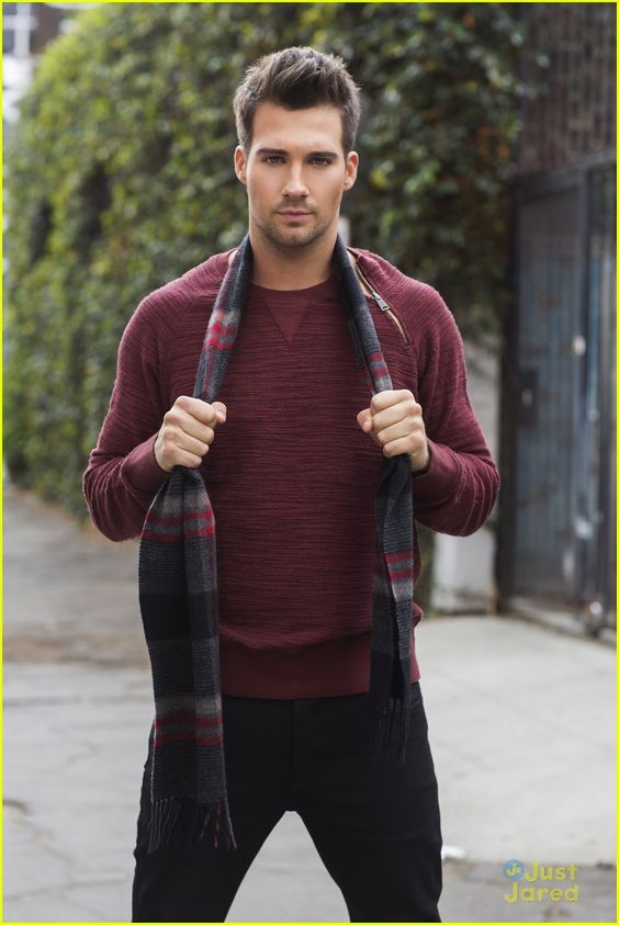 James Maslow from BTR and his transformation are seriously underrated.