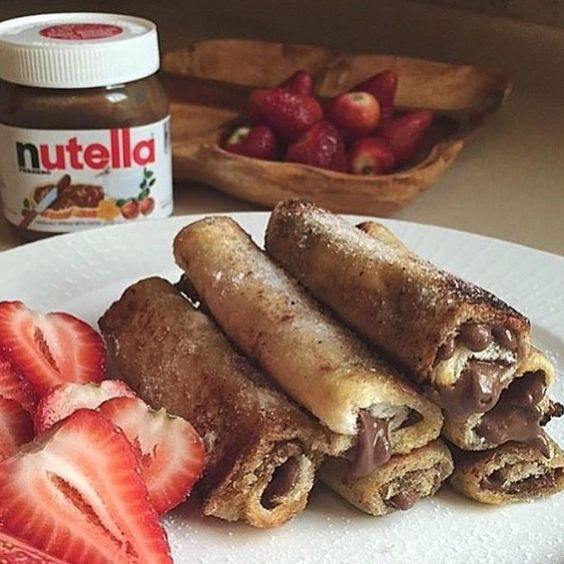"""Tag friends you'd share these goodness with!  @rodeoand5thfoodie #nutella"""