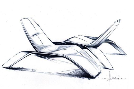 Salone del Mobile 2013: Ford Chair sketch