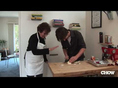 """""""Passover Cooking with Grandma Irma"""" <-- simple, tasty recipe for a party and I loved the grandson-grandma repartee in this vid!"""