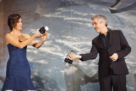 今年最後のジャパンプレミア、写真50枚と動画で振り返る『ゼロ・グラビティ』ジャパンプレミア!サンドラ姐さんご機嫌で絶好調であったw - A la carte