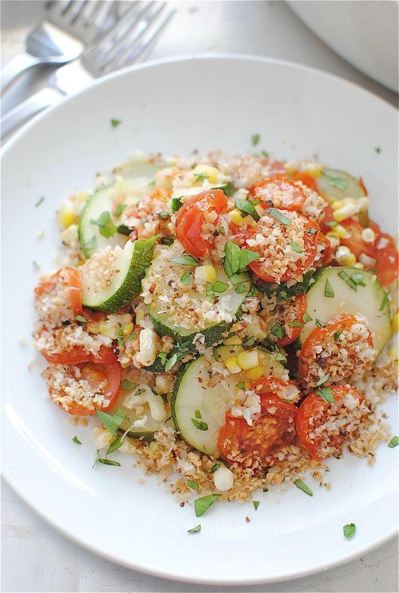 Summer Garden Vegetable Pie / Bev Cooks