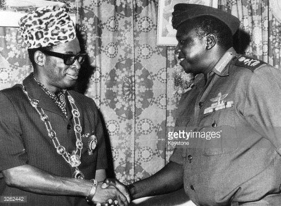 Mobutu Sese Seko meets IdiAmin