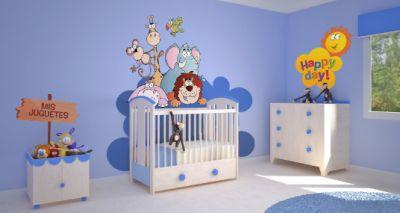 cuartos para bebes varones modernos  CUARTOS PARA BEBES ...