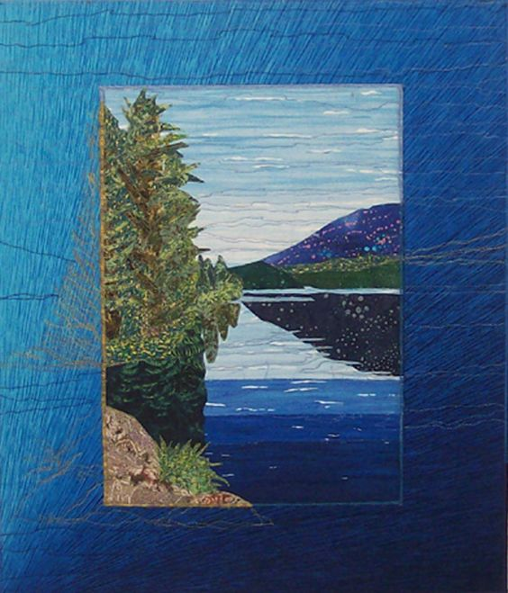 Landscape Quilts by Bobbie Sullivan, Quilt Artist, Scituate, MA: