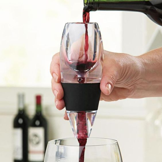Vinturi Wine Aerator for Red Wines    I have given this to several people before, and they loved it.  They also have one for white wine.