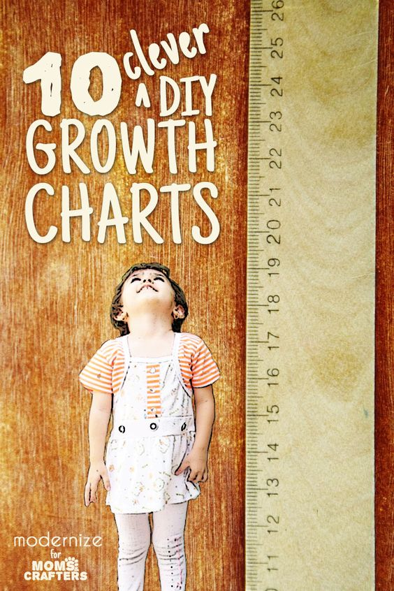 10 Cool And Clever Diy Growth Charts To Make Creative