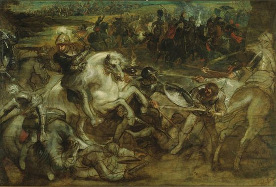 Peter Paul Rubens, Henri IV at the Battle of Ivry, ca. 1630 - Alain.R.Truong