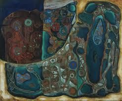 Natural History: Form Within Rock, 1946, oil on canvas, 25 x 30 in., The Museum of Modern Art.