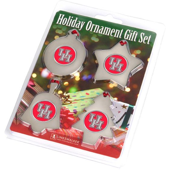 Houston Cougars NCAA Ornament Gift Pack