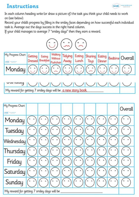 Here are some brilliant free printable reward charts that we have - blank sticker chart