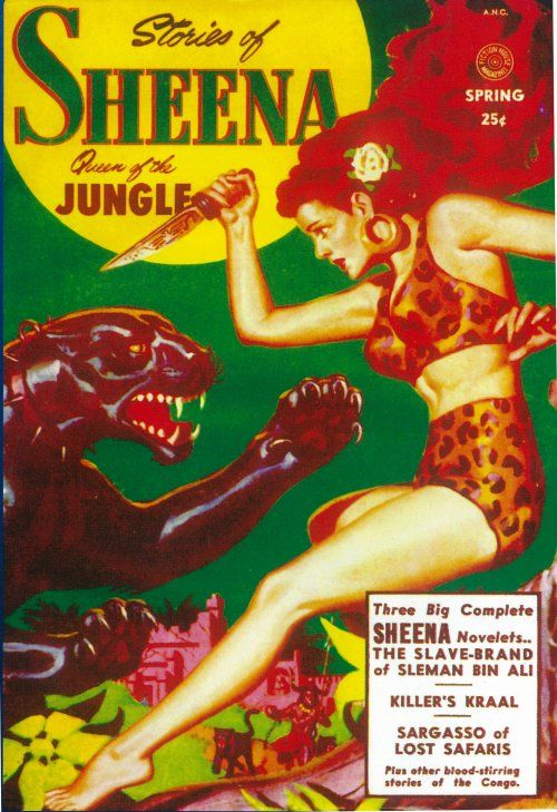 Sheena Queen of The Jungle (Pulp) Movie Posters From Movie Poster Shop