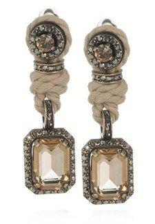 Lanvin crystal earrings